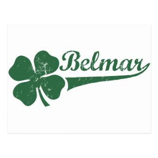 Belmar NJ Shamrock Postcard