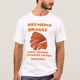 Belmont Braves Conference Champs T-Shirt