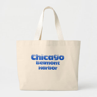 Belmont Harbor Chicago Jumbo Tote