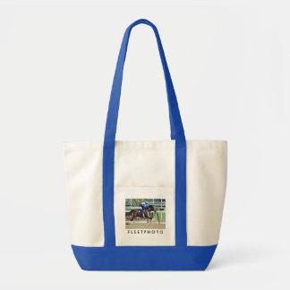 Belmont Park Workouts Impulse Tote Bag
