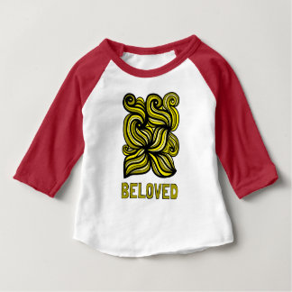 """Beloved"" Baby 3/4 Raglan T-Shirt"