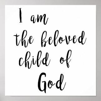 Beloved child of God - poster
