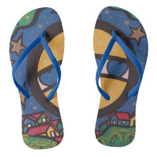 Beloved country flip flops