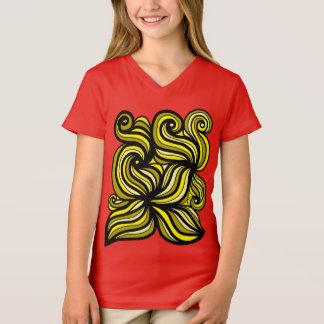 """""""Beloved"""" Girls' V-Neck T-Shirt"""