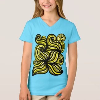 """Beloved"" Girls' V-Neck T-Shirt"
