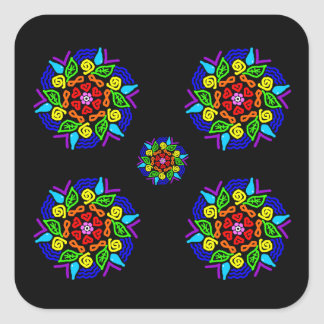 Beloved Presence Square Sticker