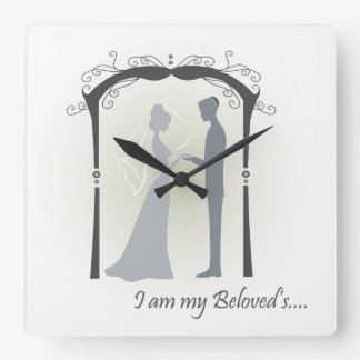 Beloved Square Wall Clock