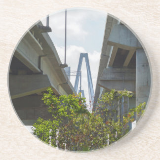 Below Arthur Ravenel Drink Coaster