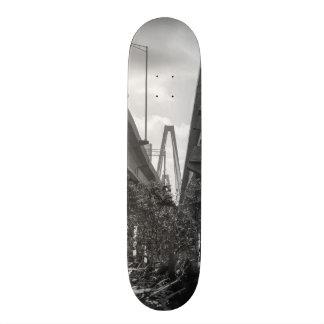 Below Arthur Ravenel Grayscale Custom Skate Board