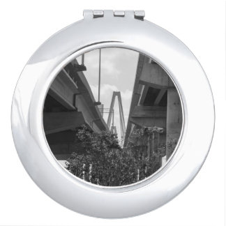 Below Arthur Ravenel Grayscale Makeup Mirror