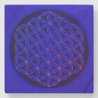 Below glass Fleur de sandstone Vie Stone Coaster