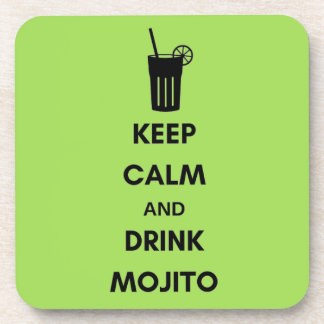 Below of Mojito glasses Coaster