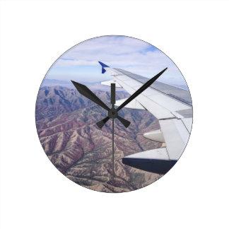 Below Round Clock