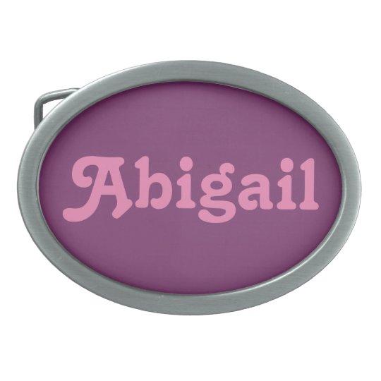 Belt Buckle Abigail