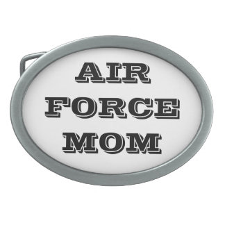 Belt Buckle Air Force Mom