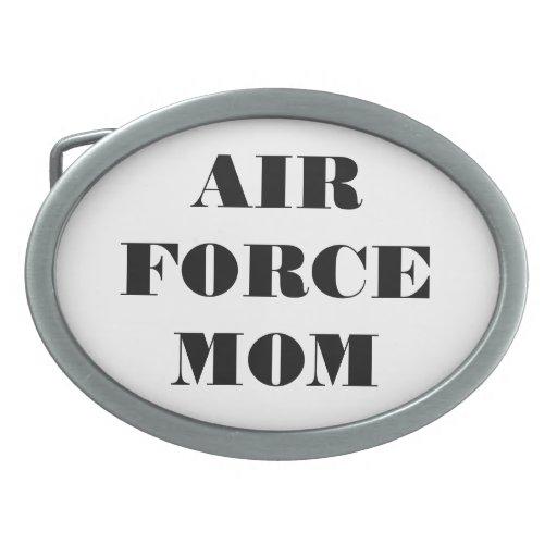 Belt Buckle Air Force Mom