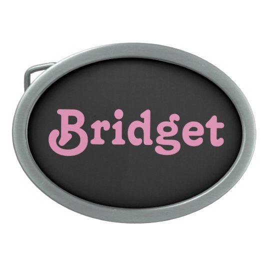 Belt Buckle Bridget