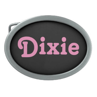 Belt Buckle Dixie