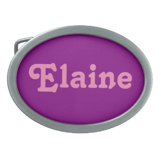 Belt Buckle Elaine