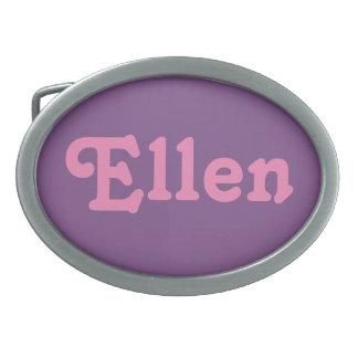Belt Buckle Ellen