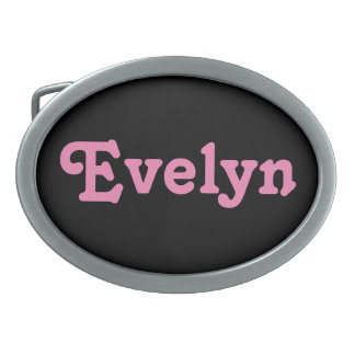Belt Buckle Evelyn
