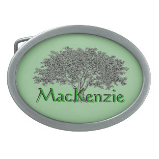 Belt Buckle - Family Tree
