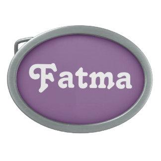 Belt Buckle Fatma