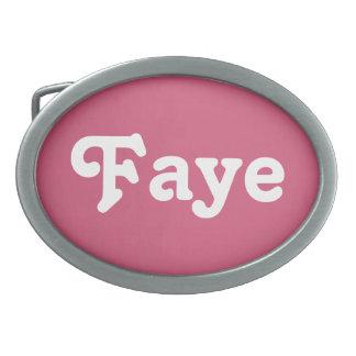Belt Buckle Faye