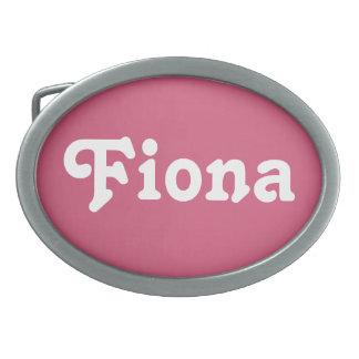 Belt Buckle Fiona