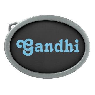 Belt Buckle Gandhi