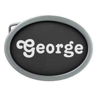 Belt Buckle George