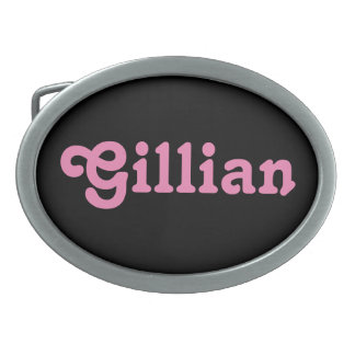Belt Buckle Gillian
