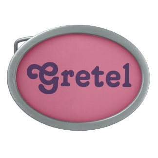 Belt Buckle Gretel