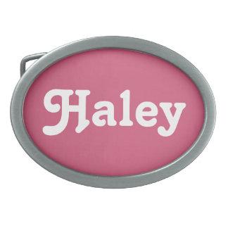 Belt Buckle Haley