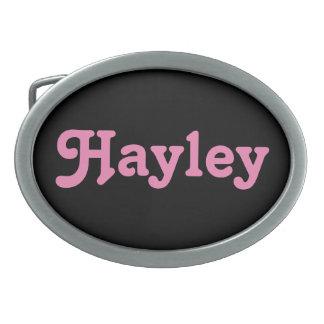 Belt Buckle Hayley