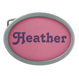 Belt Buckle Heather