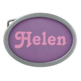 Belt Buckle Helen