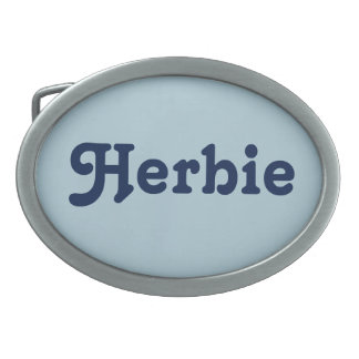 Belt Buckle Herbie