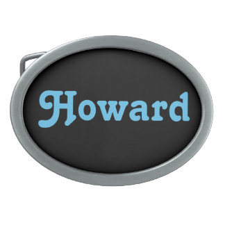 Belt Buckle Howard