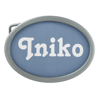Belt Buckle Iniko