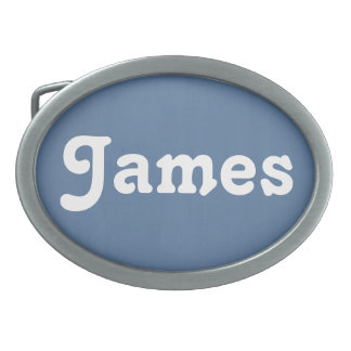 Belt Buckle James