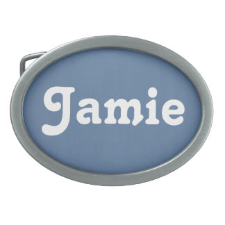 Belt Buckle Jamie