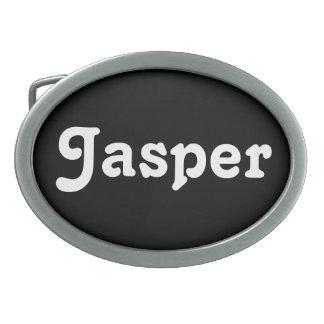 Belt Buckle Jasper