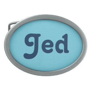 Belt Buckle Jed
