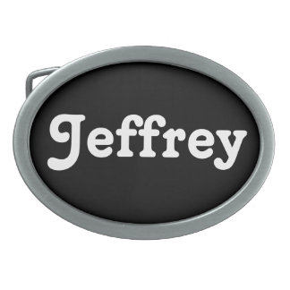 Belt Buckle Jeffrey