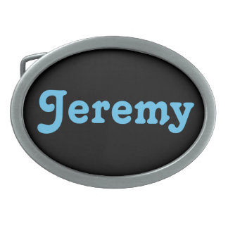 Belt Buckle Jeremy
