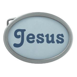 Belt Buckle Jesus