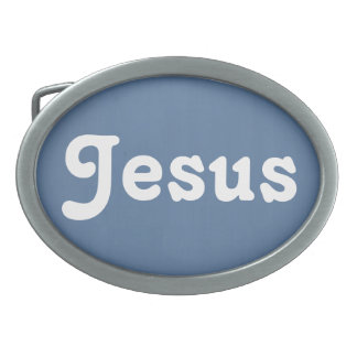 Belt Buckle Jesus
