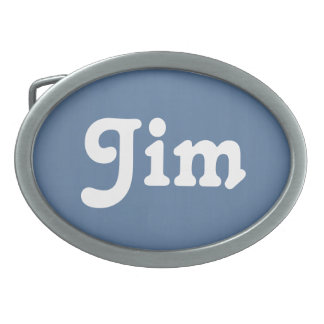 Belt Buckle Jim