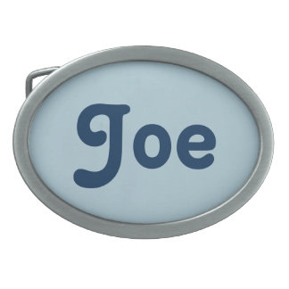 Belt Buckle Joe